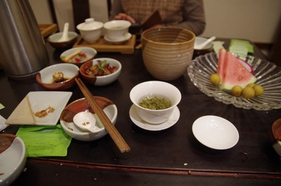 青藤茶館の食事