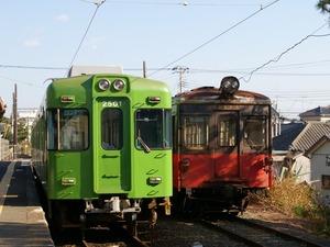 新旧銚子電鉄車両(1024x768)