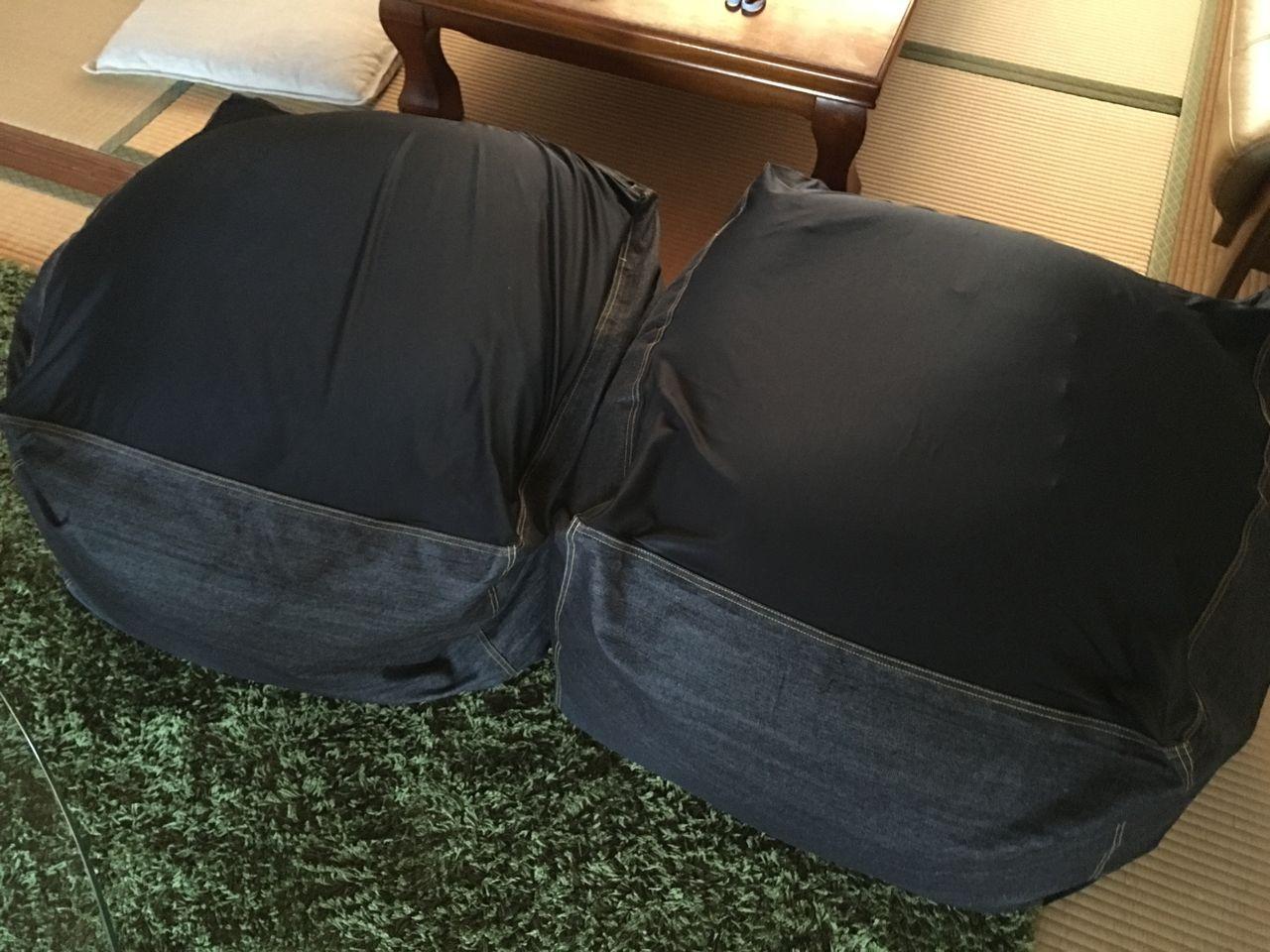 これで「体にフィットするソファ」が2つになりました(笑)