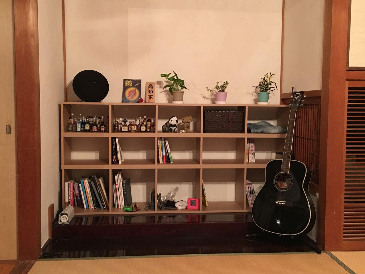 こんなかんじの本棚になりました!