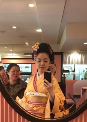 てしごと屋盆栽村店の日本髪DAY