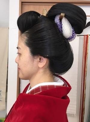 日本髪DAY てしごと屋盆栽村店