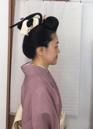 しごと屋盆栽村店日本髪DAY
