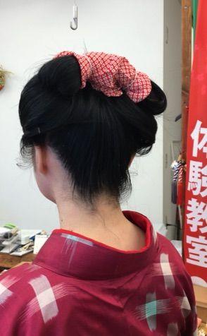 盆栽村の入り口、てしごと屋、日本髪DAY