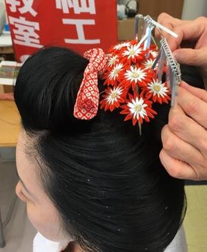 日本髪DAY 第三日曜日開催 てしごと屋盆栽村店