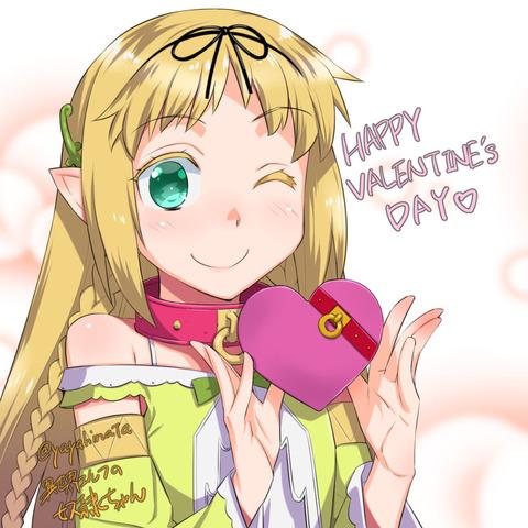 エルフちゃんバレンタイン4