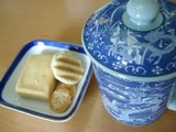 chinese tea and sweets