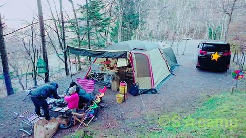 第15回 S☆camp!その①(赤倉の森オートキャンプ場)《 3回目》