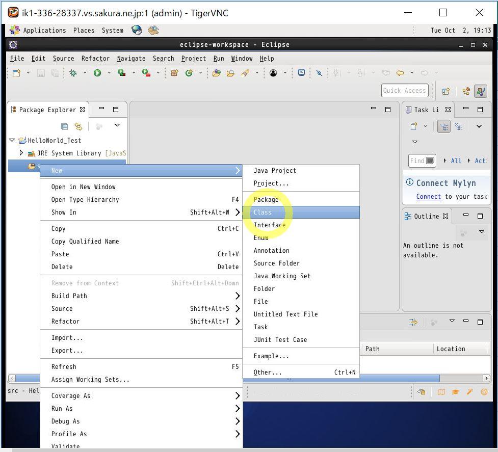 IT0029_8_create_Java_project5
