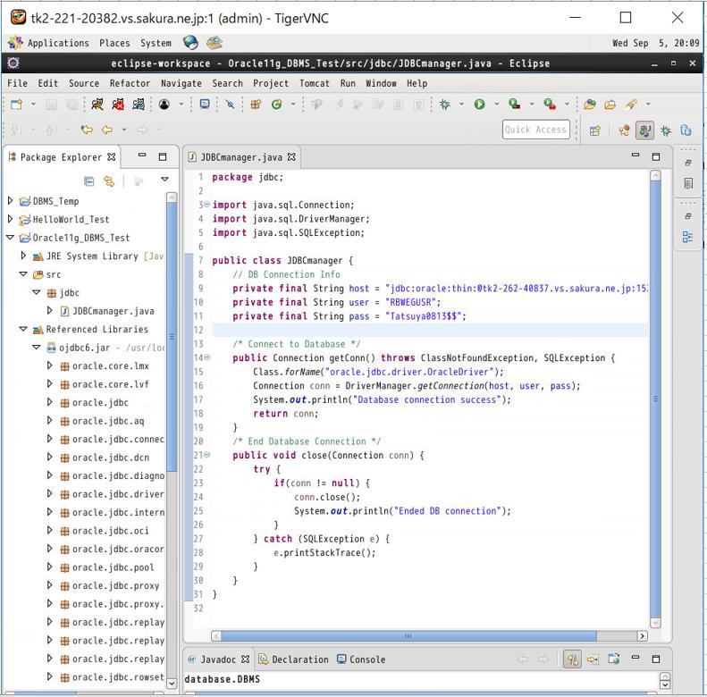 IT0027_(4)_4_DB_CreateClass_DBconn