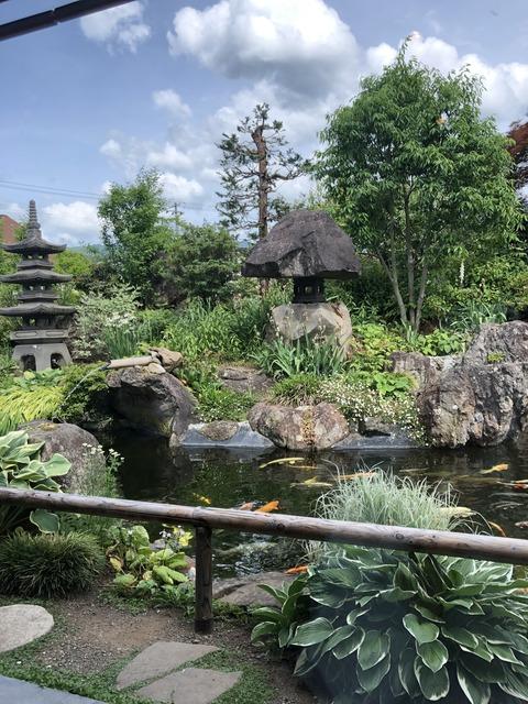 202006庭園喫茶錦のし梅パンケーキ4