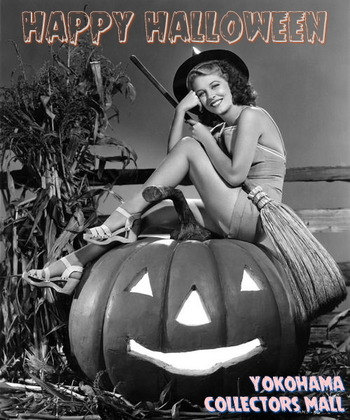 Vintage Photos of American Actresses with Their Halloween (4)