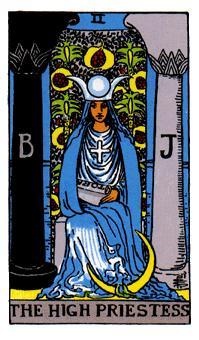 2.女司祭The High Priestessjpg