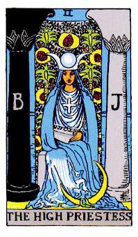 2女教皇The High Priestess