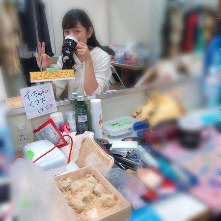 11号森田、舞台ローリング・ソングの楽屋に張り紙「すーちゃんくつ下はく!!」