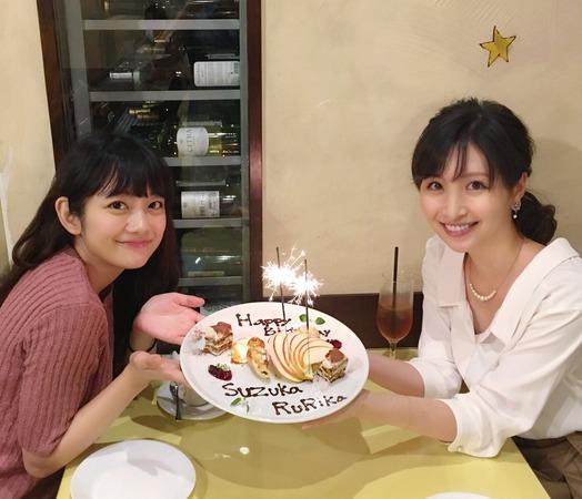 9号横山・11号森田、二人で誕生日を祝い合う