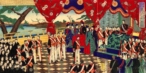 朝日新聞「明治維新?150周年?あんな時代を美化するな」