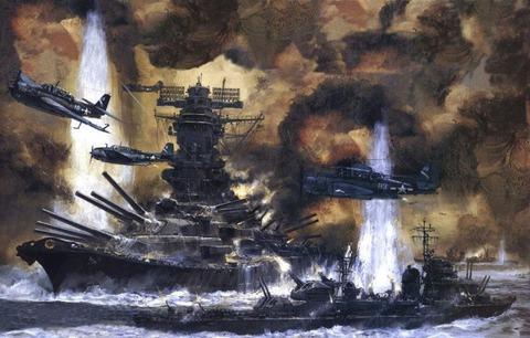 【軍事雑学】信じられないが、本当だ「戦艦大和は駆逐艦の主砲で撃沈した」