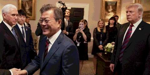 トランプは何しに韓国へ?空前の危機的状況で経済死にかける韓国「助けに来るんだろう」日本「いや、それは無い(断言」→