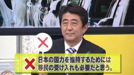"安倍政権""移民""取らず!「骨太方針」最大支持勢力「保守派」に配慮!"