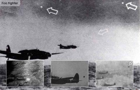 戦争中の不思議な怖い話「超高速で飛び回る飛行物体を米軍機と誤認した日本兵」