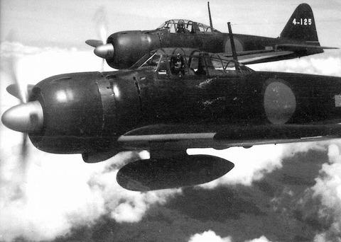 戦争中の不思議な怖い話「零戦のワニへの機銃掃射」
