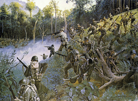戦争中の不思議な怖い話「知恵を絞り合い日米両軍は殺し合って生き抜いた」