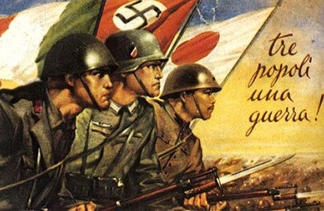 WW2は枢軸国(日独伊)の連携が取れてなくて負けたという風潮