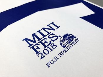 ミニフェス2018Tシャツサンプル画像01