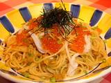 うにとイクラとイカの和風スパゲティ ¥1180