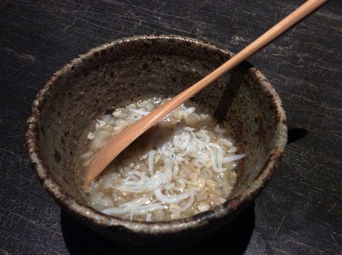 蕎麦の実のおかゆ