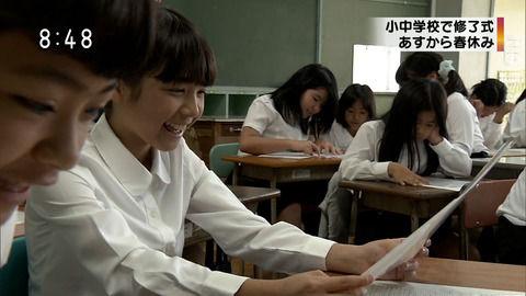 【画像あり】NHKに映った女子小学生が可愛すぎるンゴwwwww