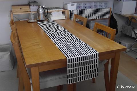 20160605_クッションカバー、テーブルランナー作成03