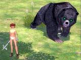 クマに見つかる