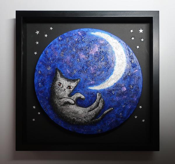 月に抱かれて