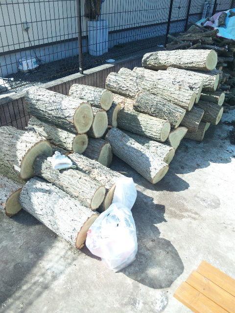 薪小屋作り