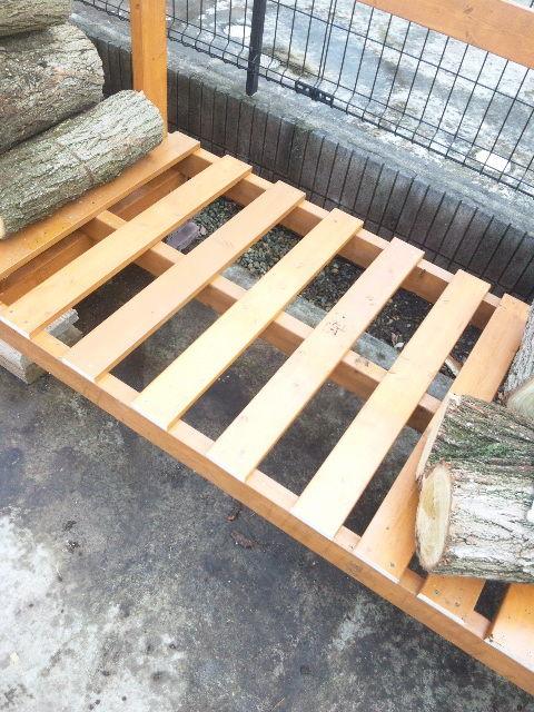 薪小屋作り③