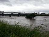 台風18号大和川