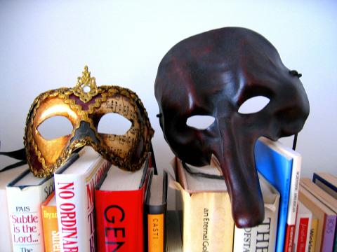 不思議な仮面