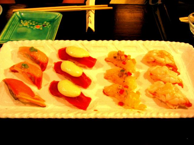 がりの寿司