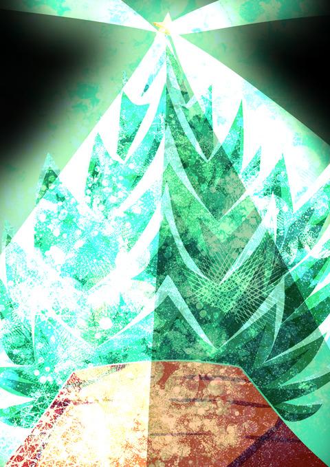 落書きツリー
