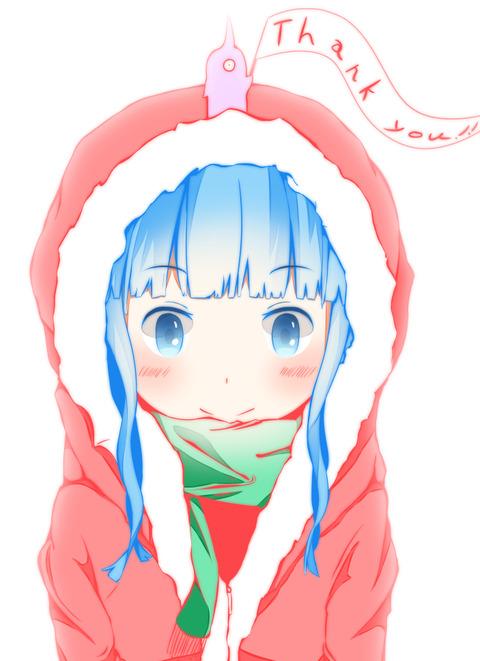 クリスマスパーカーhahu