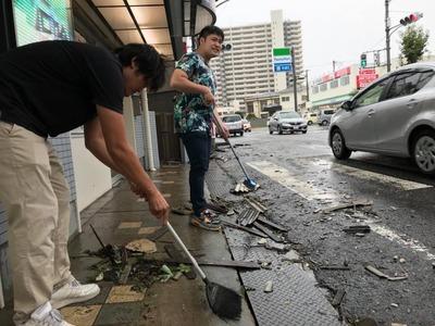 平成30年9月4日台風21号