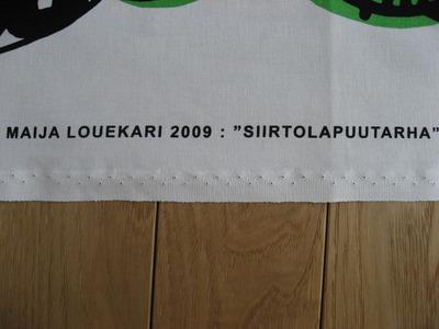 マリメッコ「SIIRTOLAPUUTARHA」