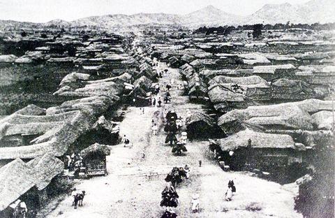 日韓併合前の朝鮮ソウル(1988年)