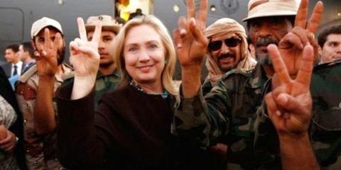Satan Hillary Clinton created ISIS