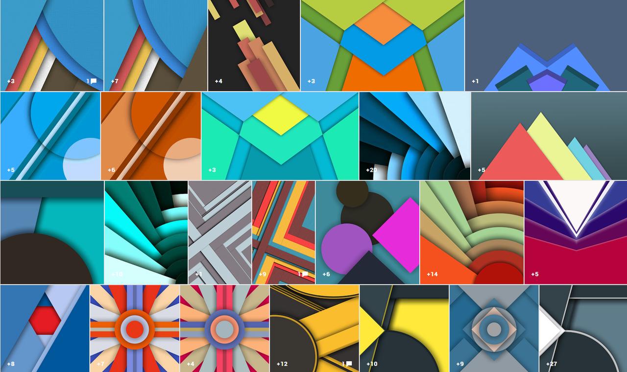 Android 5 0のマテリアルデザイン壁紙 141枚が無料ダウンロード可