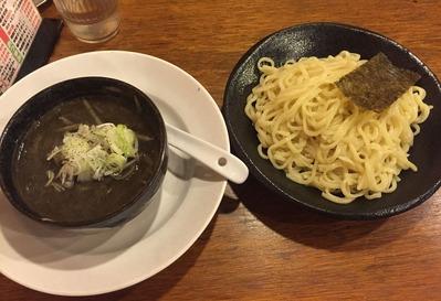 黒ごまつけ麺