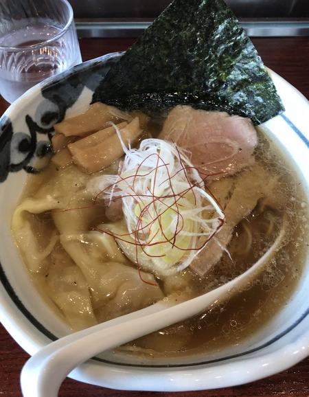 ワンタン麺塩