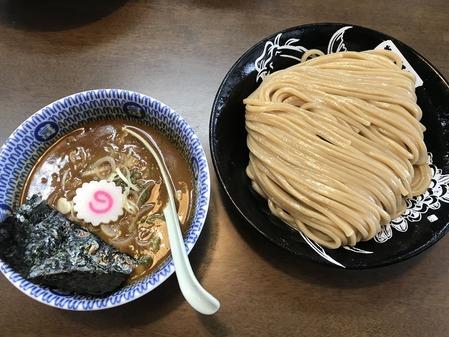 濃厚つけ麺(中)